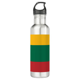 Lithuania Flag 710 Ml Water Bottle