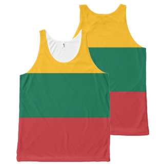 Lithuania Flag All-Over-Print Tank Top