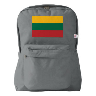 Lithuania Flag Backpack