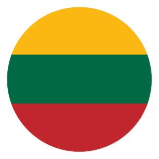 Lithuania Flag Card