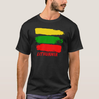 Lithuania flag design T-Shirt