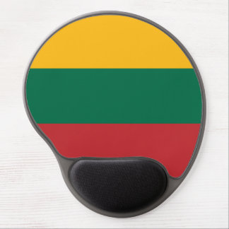 Lithuania Flag Gel Mouse Pad