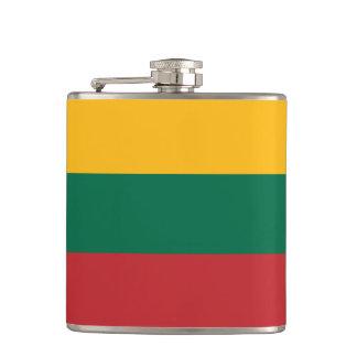 Lithuania Flag Hip Flask