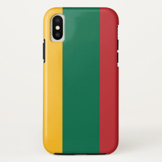 Lithuania Flag iPhone X Case