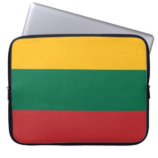 Lithuania Flag Laptop Sleeve