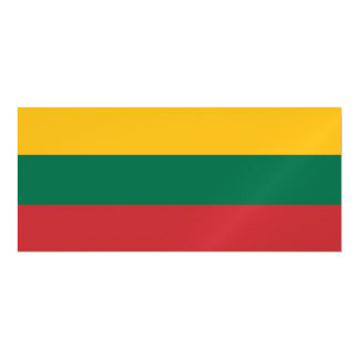 Lithuania Flag Magnetic Card