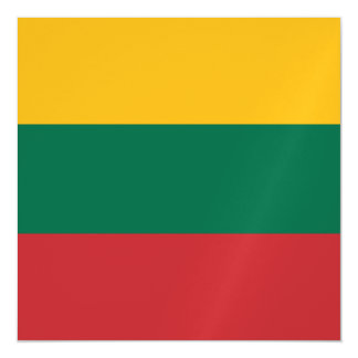 Lithuania Flag Magnetic Invitations