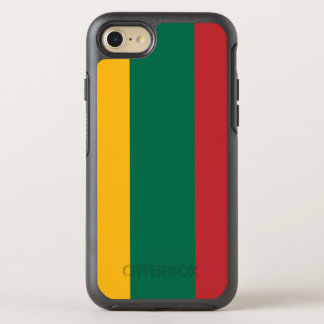 Lithuania Flag OtterBox Symmetry iPhone 8/7 Case