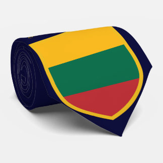 Lithuania Flag Personalized Tie