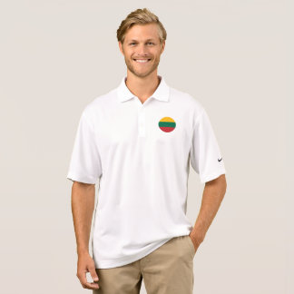 Lithuania Flag Polo Shirt