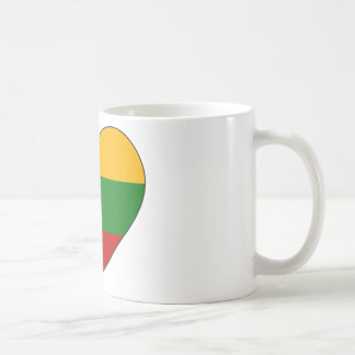 Lithuania Flag Simple Coffee Mug