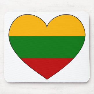 Lithuania Flag Simple Mouse Pad