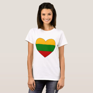 Lithuania Flag Simple T-Shirt