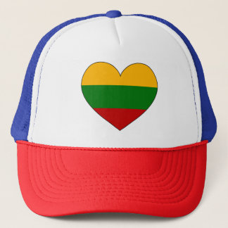 Lithuania Flag Simple Trucker Hat