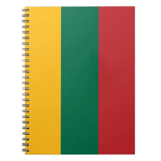Lithuania Flag Spiral Notebook