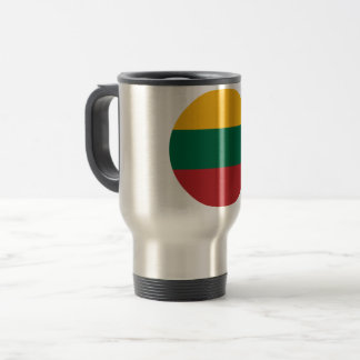 Lithuania Flag Travel Mug