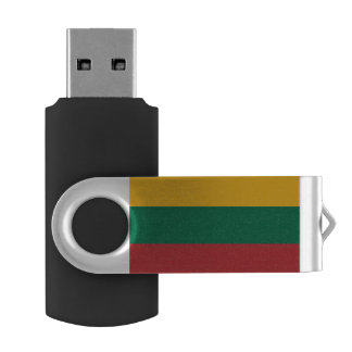 Lithuania Flag USB Flash Drive
