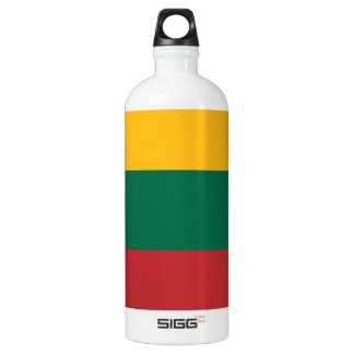 Lithuania Flag Water Bottle