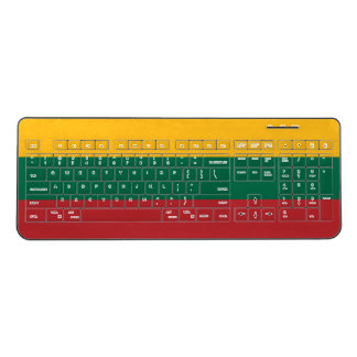 Lithuania Flag Wireless Keyboard