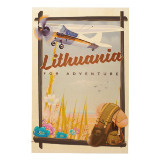 lithuania - For an adventure travel poster