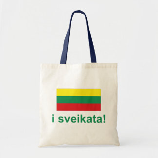 Lithuania i sveikata! (Cheers!) Tote Bag