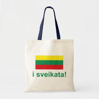 Lithuania i sveikata! (Cheers!) Tote Bag