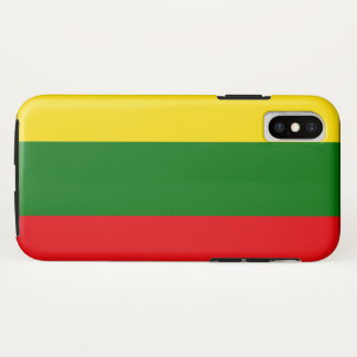 Lithuania iPhone X Case