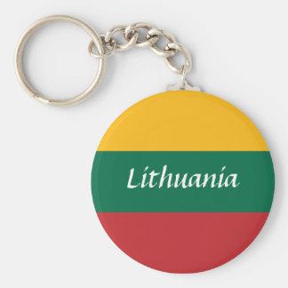 lithuania keychain
