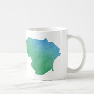 Lithuania Map Coffee Mug