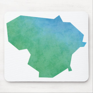 Lithuania Map Mouse Pad