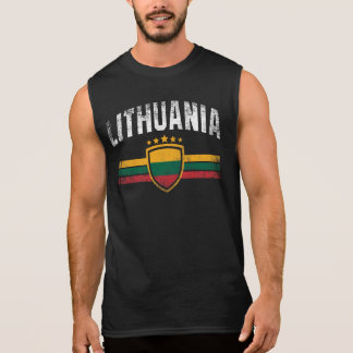 Lithuania Sleeveless Shirt