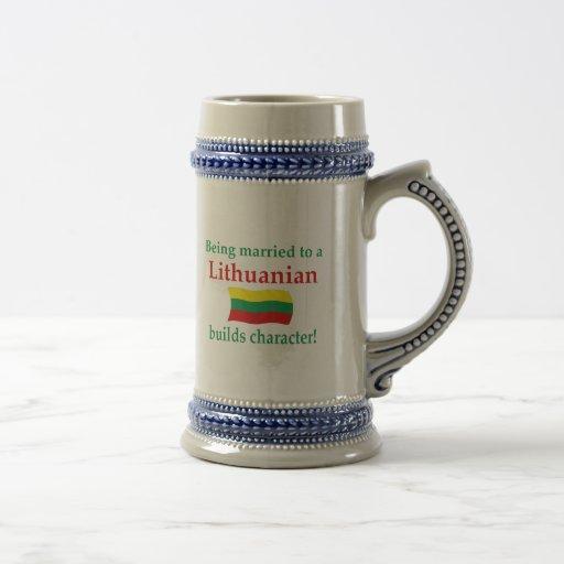 Lithuanian Builds Character Mug