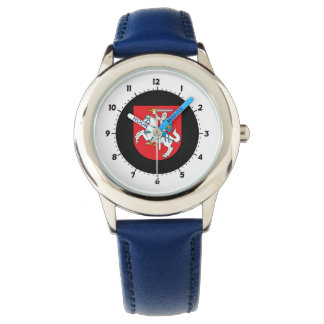 Lithuanian coat of arms watch