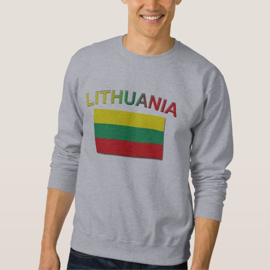 Lithuanian Flag 4 Sweatshirt