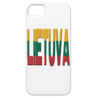 Lithuanian flag case for the iPhone 5