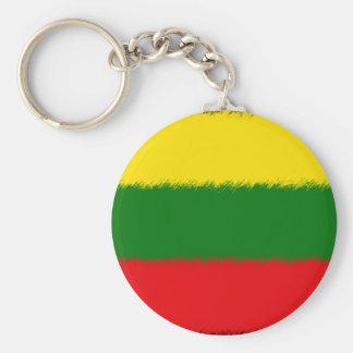 Lithuanian Flag Keychain