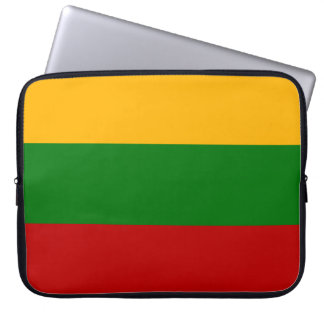 Lithuanian Flag Laptop Sleeves
