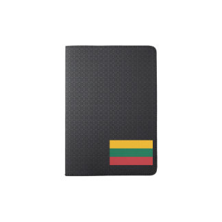 Lithuanian flag passport holder