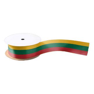 Lithuanian flag ribbon satin ribbon