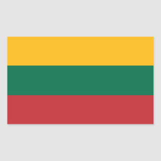 Lithuanian Flag Sticker