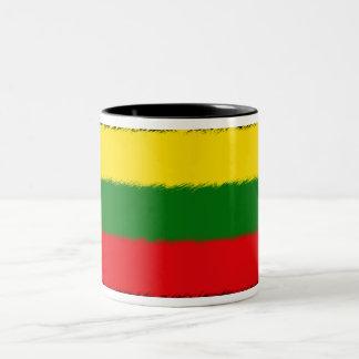 Lithuanian Flag Two-Tone Coffee Mug