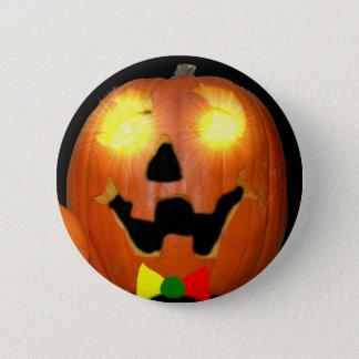 Lithuanian Halloween Pumpkin Button