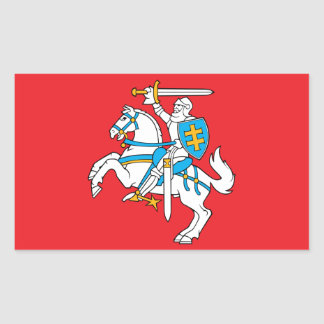 Lithuanian State Flag Sticker