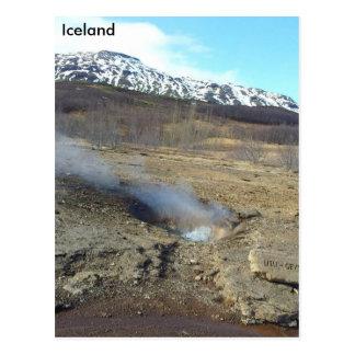 Litli Geyser, Iceland Postcard