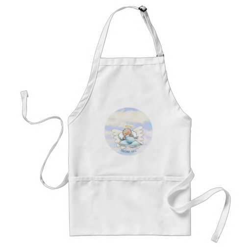Litlle Baby Boy - Angel sent from above Apron