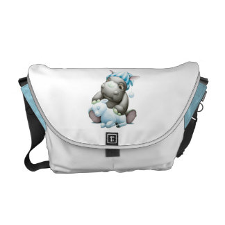 Litte G the Baby Rhino and Lamb Diaper Bag Messenger Bag