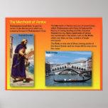Littérature, Shakespeare, le négociant de Venise Affiches