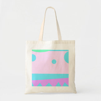 Little Abstract Monster - Budget Tote Bag