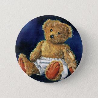 Little Acorn, a Favourite Teddy 2 Inch Round Button