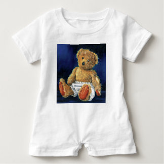 Little Acorn, a Favourite Teddy Baby Romper